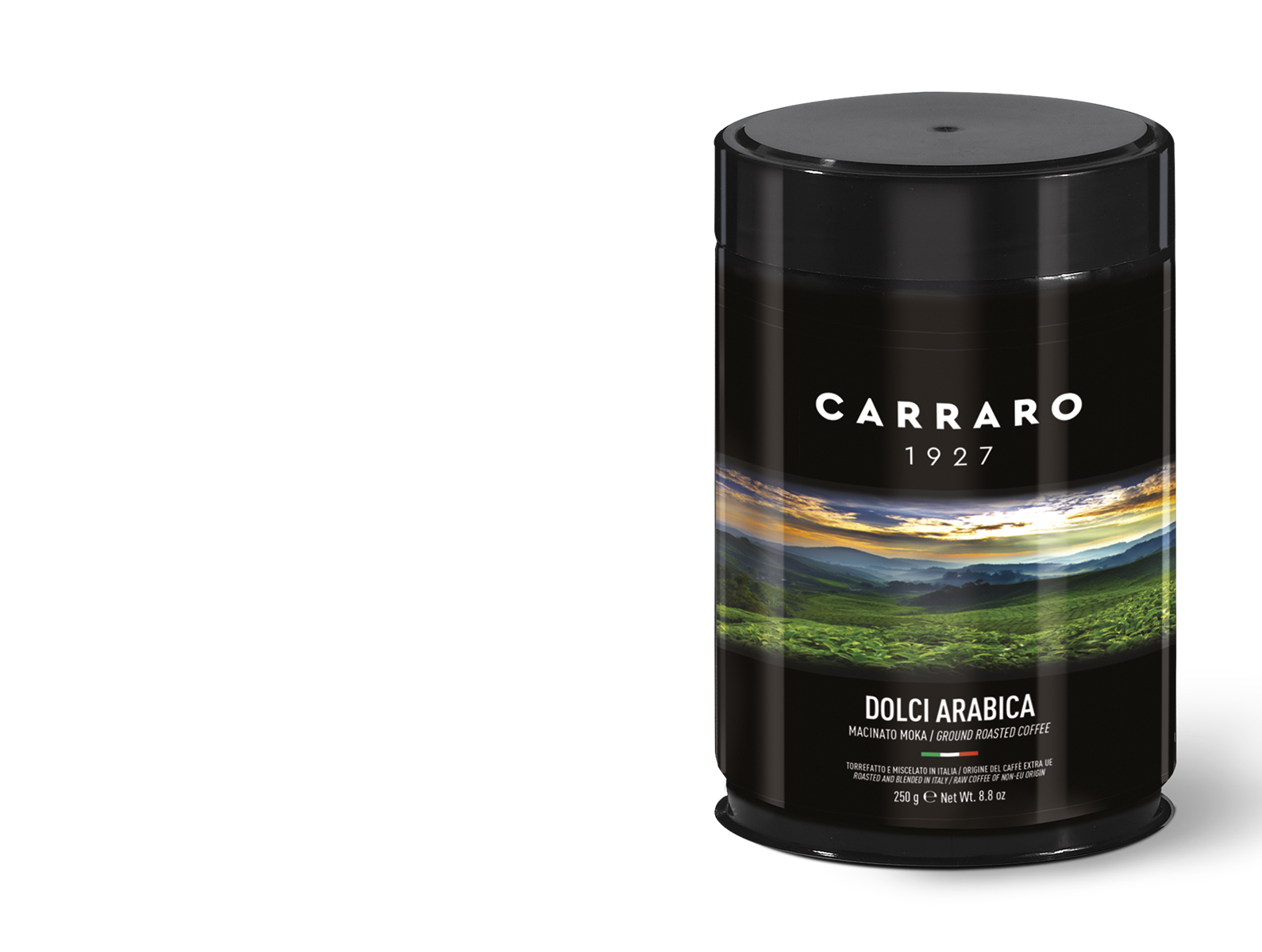 Dolci Arabica 100% – caffè macinato 250 g in latta