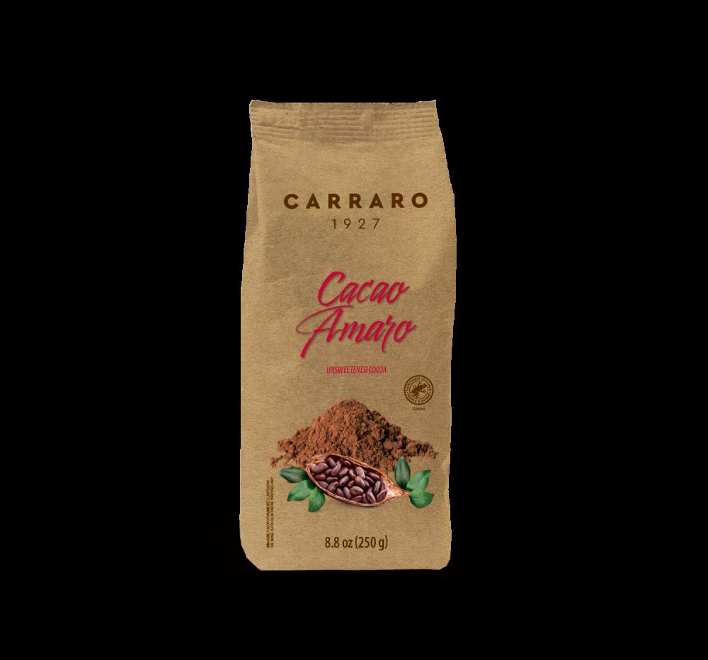Cacao amaro – 250 g - Caffè Carraro