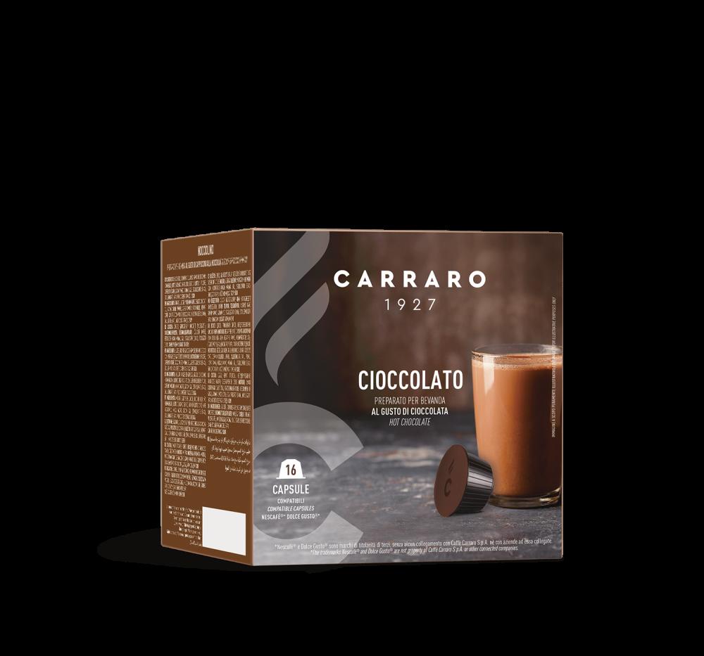Cioccolato – 16 capsule - Caffè Carraro