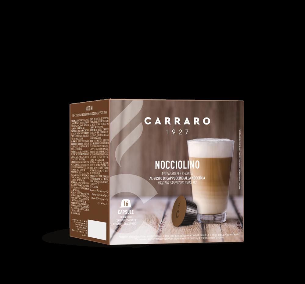 Nocciolino – 16 capsules - Caffè Carraro