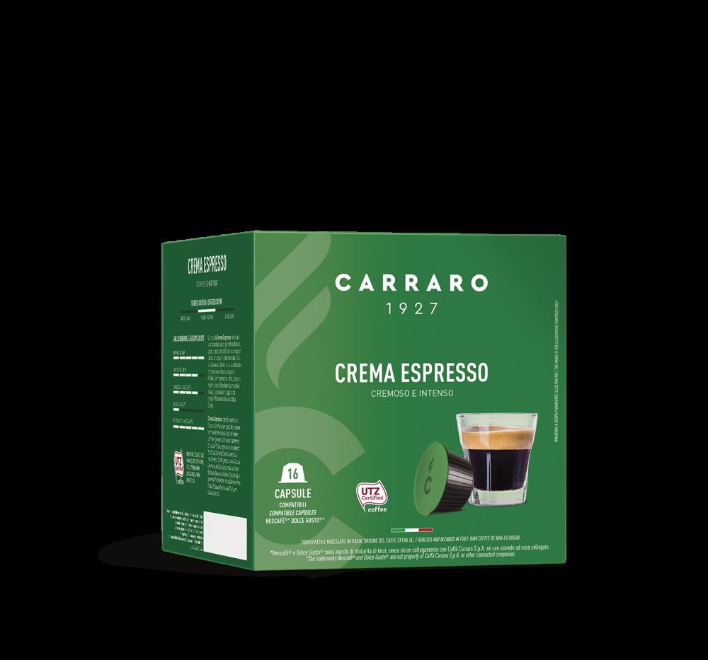 Crema Espresso – 16 capsule - Caffè Carraro