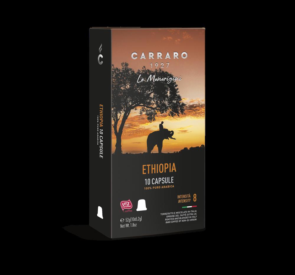 Ethiopia – 10 capsules - Caffè Carraro