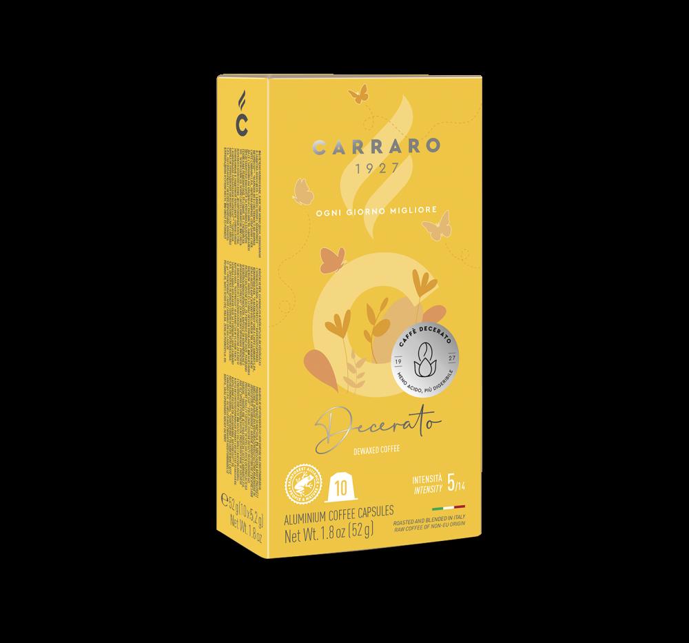 Decerato – 10 capsules - Caffè Carraro