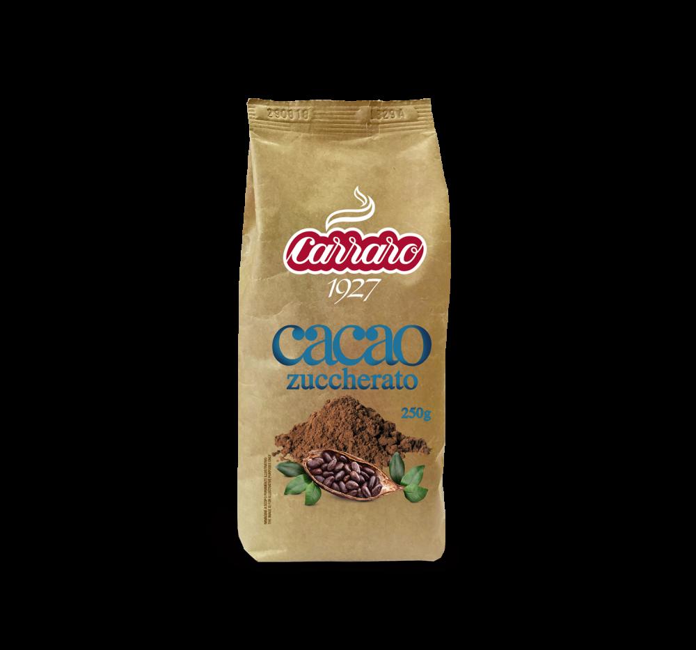 Cacao zuccherato – 250 g - Caffè Carraro