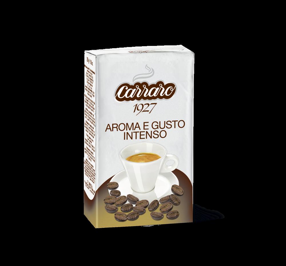 Aroma e Gusto Intenso – ground coffee 250 g - Caffè Carraro
