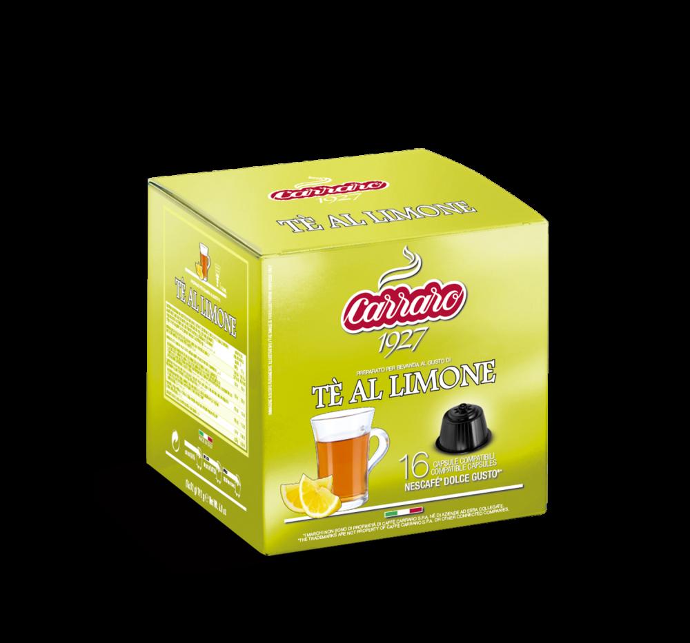 Tè al limone  – 16 capsules - Caffè Carraro