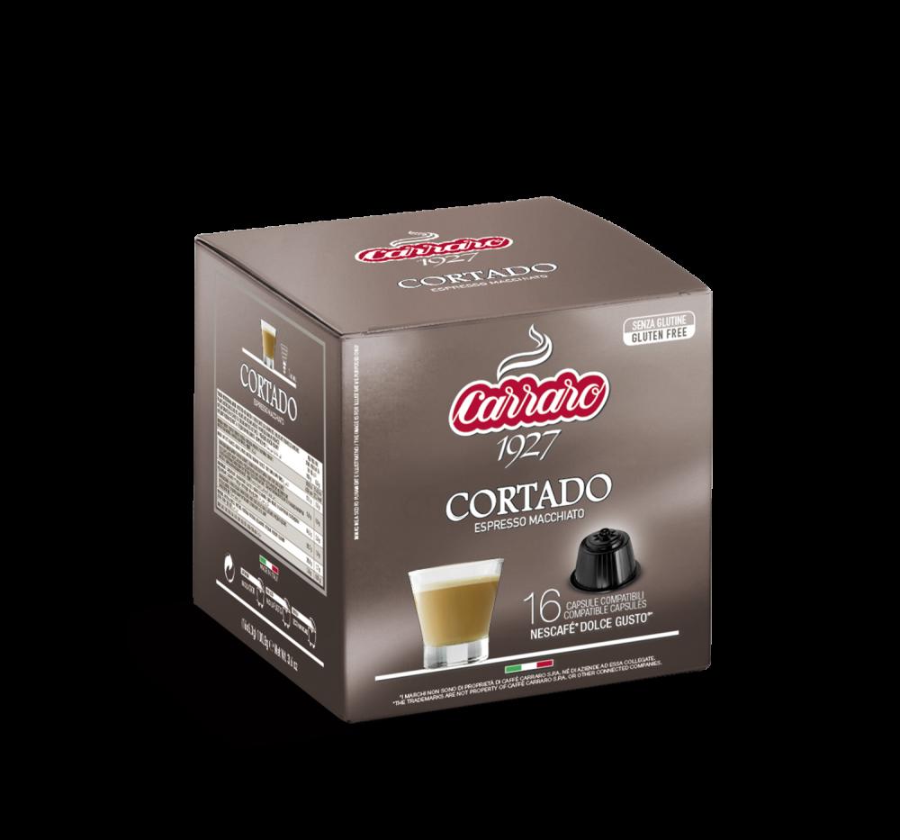 Cortado – 16 capsules - Caffè Carraro