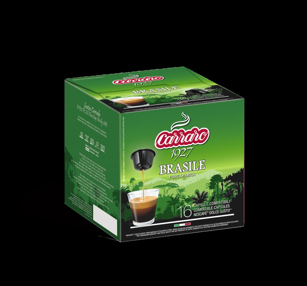 Brasile – 16 capsules - Caffè Carraro
