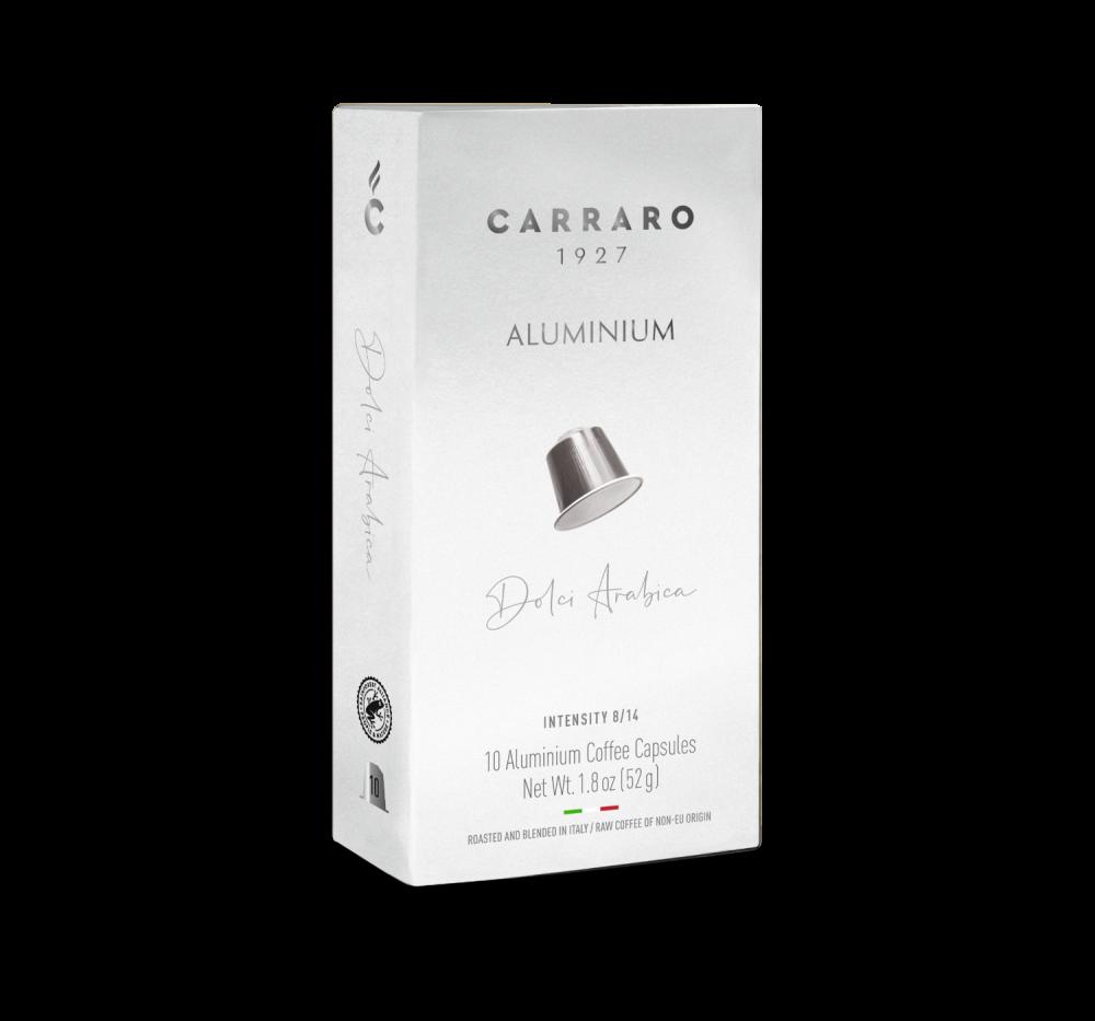 Dolci Arabica – 10 capsule in alluminio - Caffè Carraro