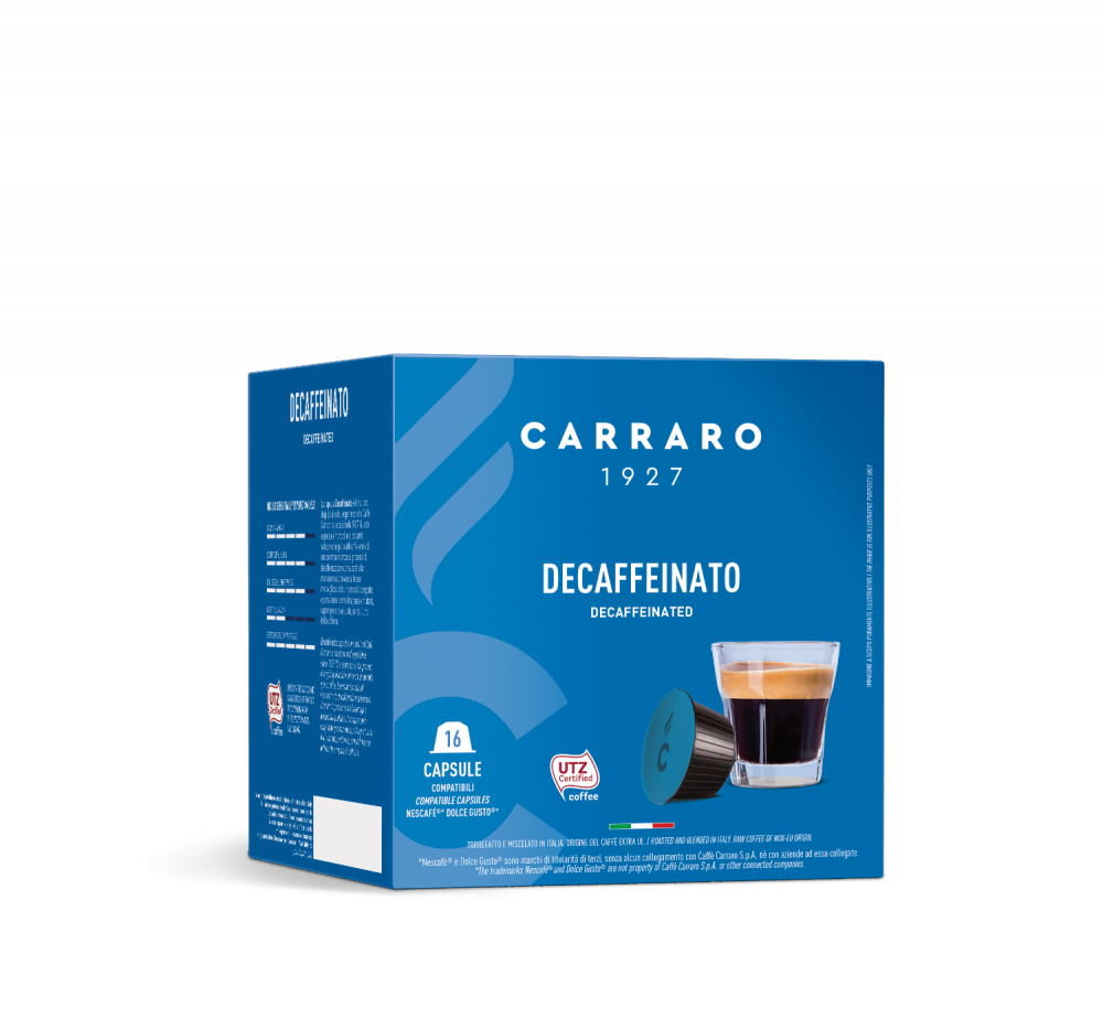 Decaffeinato – 16 capsule - Caffè Carraro