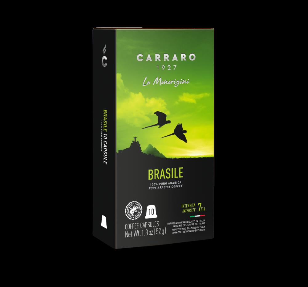 Brasile – 10 capsules - Caffè Carraro